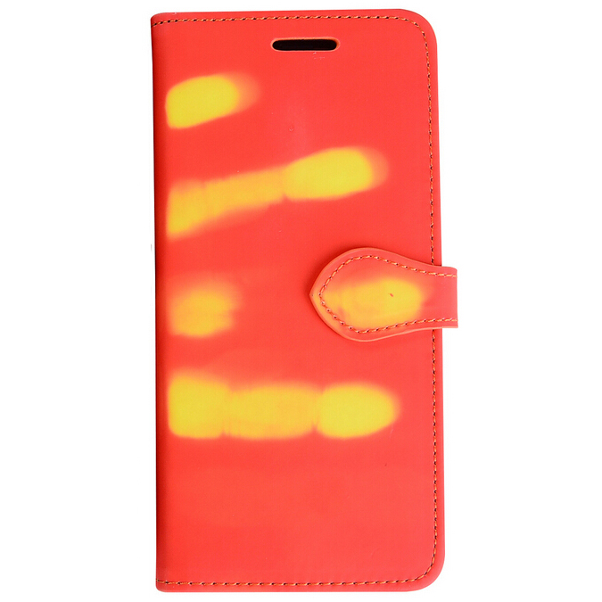 ... 7 Sensitive Thermal Flip Cover for Samsung Galaxy S8 Plus - Red - 1 ... 36ee1d398f