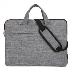 Qinnxer Sleeve Case Laptop 15.6 Inch - 1851 - Dark Gray