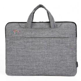 Qinnxer Sleeve Case Laptop 15.6 Inch - 1851 - Dark Gray - 2