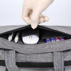 Qinnxer Sleeve Case Laptop 15.6 Inch - 1851 - Dark Gray - 3