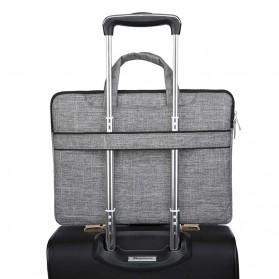 Qinnxer Sleeve Case Laptop 15.6 Inch - 1851 - Dark Gray - 6