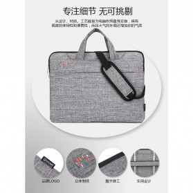 FOPATI Sleeve Case Laptop 14 Inch - 1851 - Dark Gray - 3
