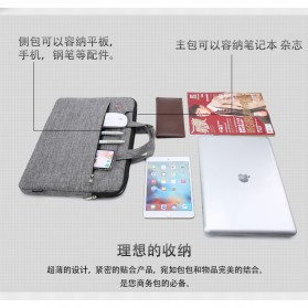 FOPATI Sleeve Case Laptop 14 Inch - 1851 - Dark Gray - 7