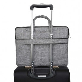 FOPATI Sleeve Case Laptop 14 Inch - 1851 - Dark Gray - 9