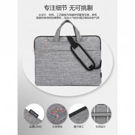 FOPATI Sleeve Case Laptop 13 Inch - 1851 - Dark Gray - 3