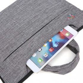 FOPATI Sleeve Case Laptop 13 Inch - 1851 - Dark Gray - 6