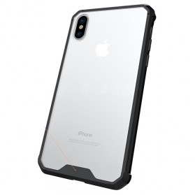 Defense Protector Armor Case for iPhone X - Black