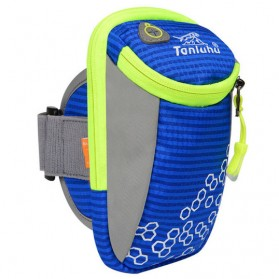 Tanluhu Sport Running Armband Waterproof - Blue