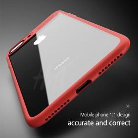 Transparent Full Protective Hardcase for iPhone 7 Plus / 8 Plus - Black - 5
