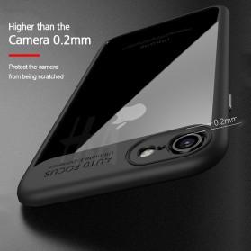 Transparent Full Protective Hardcase for iPhone 7 Plus / 8 Plus - Black - 6