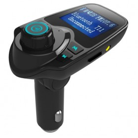 Car Bluetooth MP3 Player FM Transmitter A2DP - T11 - Black