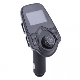 Anlud Car Bluetooth MP3 Player FM Transmitter A2DP - T11 - Black - 4