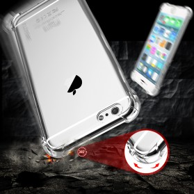 Anti Crack TPU Silicone Softcase for iPhone 7/8 - S111 - Transparent - 2