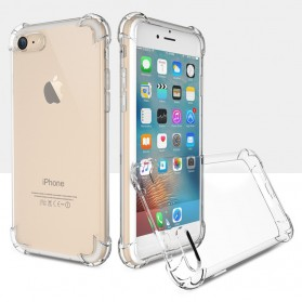 Anti Crack TPU Silicone Softcase for iPhone 7/8 - S111 - Transparent - 7