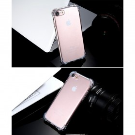 Anti Crack TPU Silicone Softcase for iPhone 7/8 - S111 - Transparent - 8