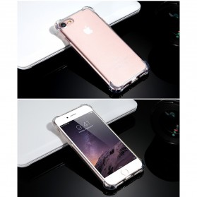 Anti Crack TPU Silicone Softcase for iPhone 7/8 - S111 - Transparent - 9