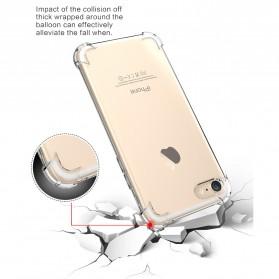 Anti Crack TPU Silicone Softcase for iPhone 7 Plus / 8 Plus - S111 - Transparent - 6