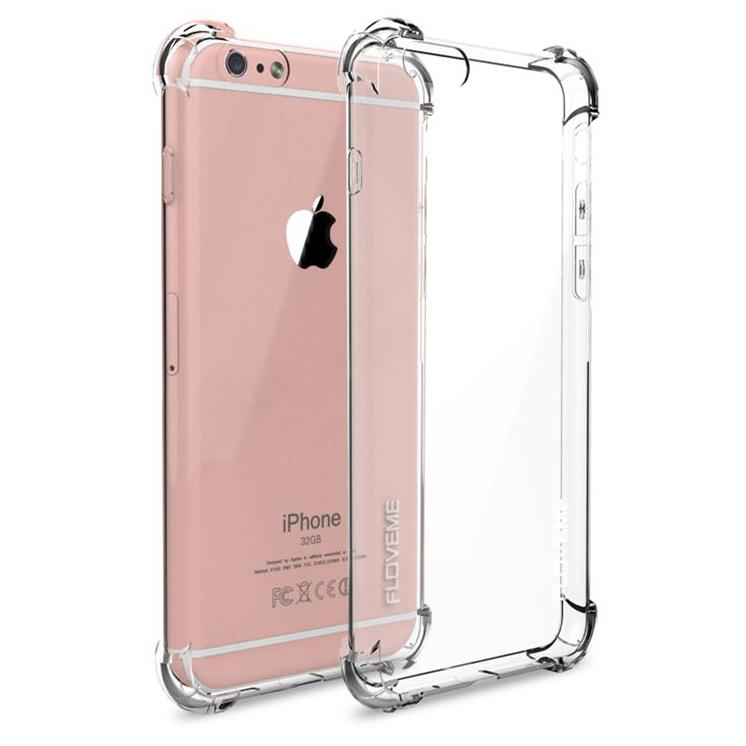 hot sales 0beef 8f9c6 Anti Crack TPU Silicone Softcase for iPhone 7 Plus / 8 Plus - S111 -  Transparent
