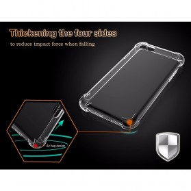 Anti Crack TPU Silicone Softcase for iPhone X XS - S112 - Transparent - 2