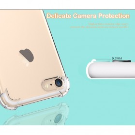 Anti Crack TPU Silicone Softcase for iPhone X XS - S112 - Transparent - 3