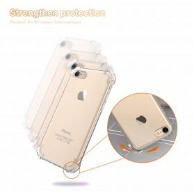 Anti Crack TPU Silicone Softcase for iPhone X XS - S112 - Transparent - 4