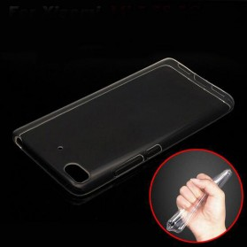 Anti Crack TPU Silicone Softcase for Xiaomi Mi5s - Transparent - 1