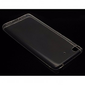 Anti Crack TPU Silicone Softcase for Xiaomi Mi5s - Transparent - 4