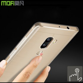 Anti Crack TPU Silicone Softcase for Xiaomi Mi5s Plus - Transparent - 4