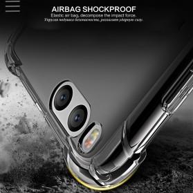 Anti Crack TPU Silicone Softcase for Xiaomi Mi6 - Transparent - 2