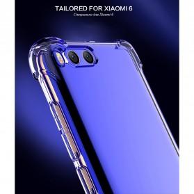 Anti Crack TPU Silicone Softcase for Xiaomi Mi6 - Transparent - 3