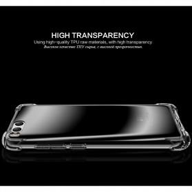 Anti Crack TPU Silicone Softcase for Xiaomi Mi6 - Transparent - 4