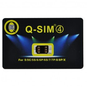 Q-SIM4 Automatic Unlock 4G LTE for iPhone - 3