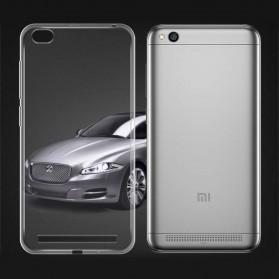 Protective TPU Silicone Softcase for Xiaomi Redmi 5A - Transparent
