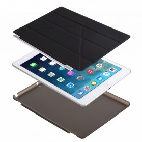 Smart Cover Magnetic Flip Case for iPad Pro 9.7 - Black - 5