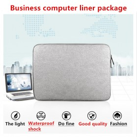 AIGREEN Waterproof Sleeve Case for Notebook 11.6 / Macbook 12 Inch - AK02 - Gray - 2
