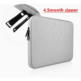 AIGREEN Waterproof Sleeve Case for Notebook 11.6 / Macbook 12 Inch - AK02 - Gray - 7