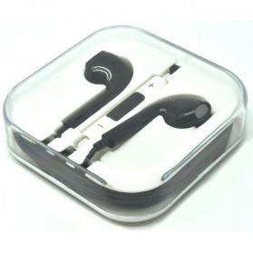 Apple Earphones High Quality for iPhone 5 (OEM) - Black