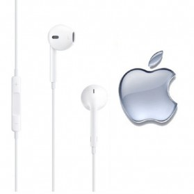 Apple Earphones High Quality for iPhone 5 (Replika 1:1) - White - 3