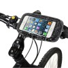 Bike Mount & Waterproof / Sand-proof / Snow-proof / Dirt-proof Tough Touch Case for iPhone 5/5S/5C/SE iPod Touch 5 - Black