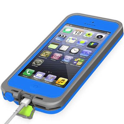 Casing Waterproof Ultra-slim untuk iPhone 5/5S/SE - Dark ...