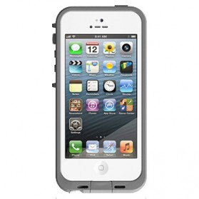 Casing Waterproof Ultra-slim untuk iPhone 5/5S/SE - White