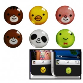 High Quality Home Button Sticker Random 6 pcs for iPhone / iPod / iPad