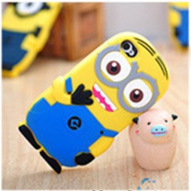 Minion Despicable Me TPU Case for iPhone 4 & 4S - Blue