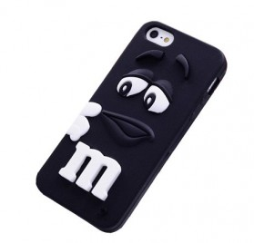 M&M TPU Case for iPhone 4/4s - Black