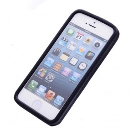 M&M TPU Case for iPhone 4/4s - Black - 2