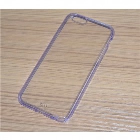 Ultra Thin Clear Crystal Transparent Acrylic Case for iPhone 6 - Purple