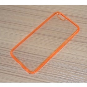 Ultra Thin Clear Soft Case iPhone 6 Plus - Orange
