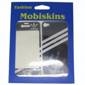 Mobiskins Sticker for iPhone 4 (Anti Fingerprint) - Black