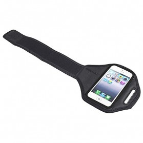 Padded Material Sports Armband Case for iPhone 4/4s - ZE-AD004 - Gray - 3