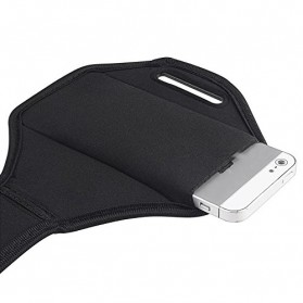 Padded Material Sports Armband Case for iPhone 4/4s - ZE-AD004 - Gray - 4